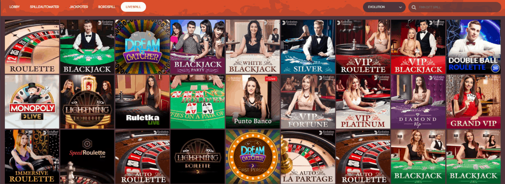 GunsBet Live Casino