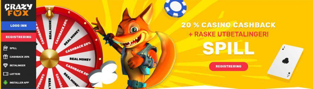 Crazy Fox Casino Norge