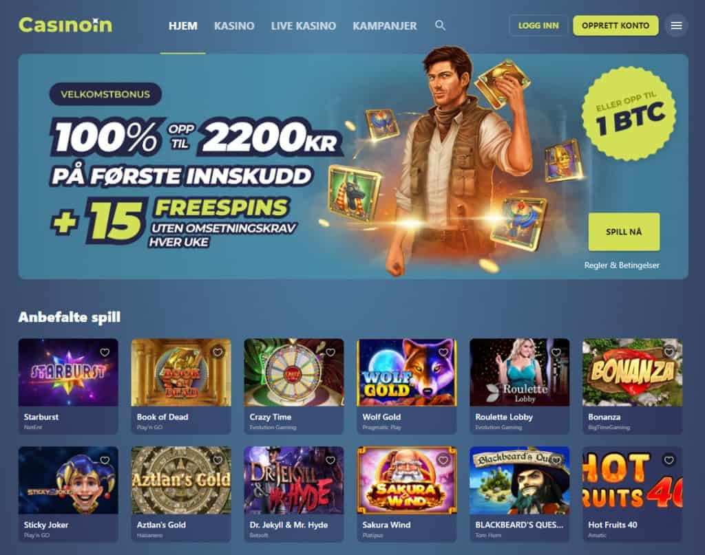 Casinoin Norge
