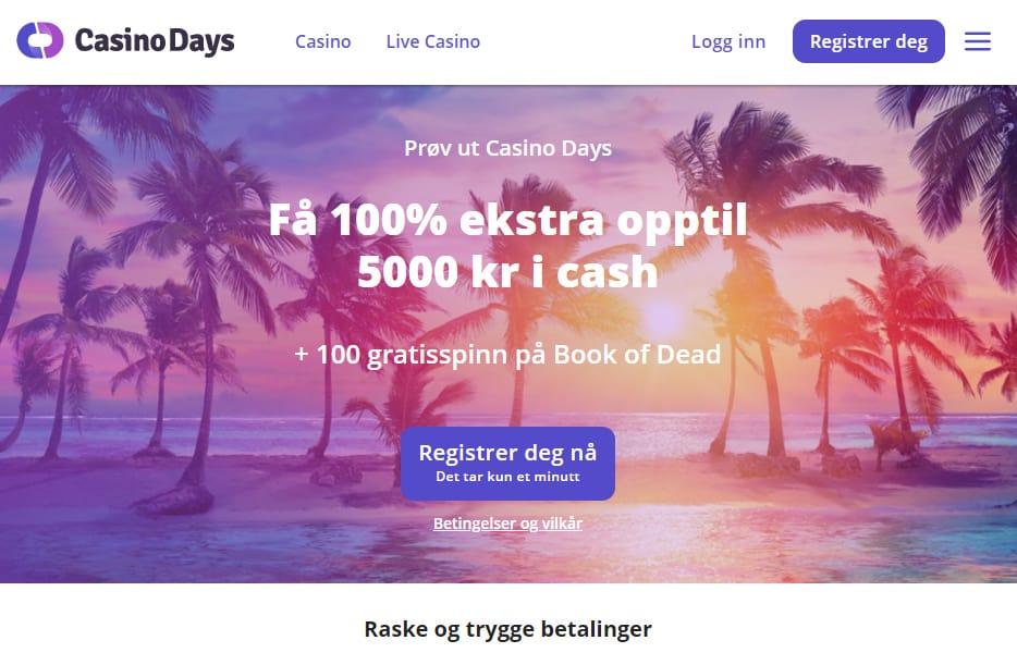 Casino Days Norge