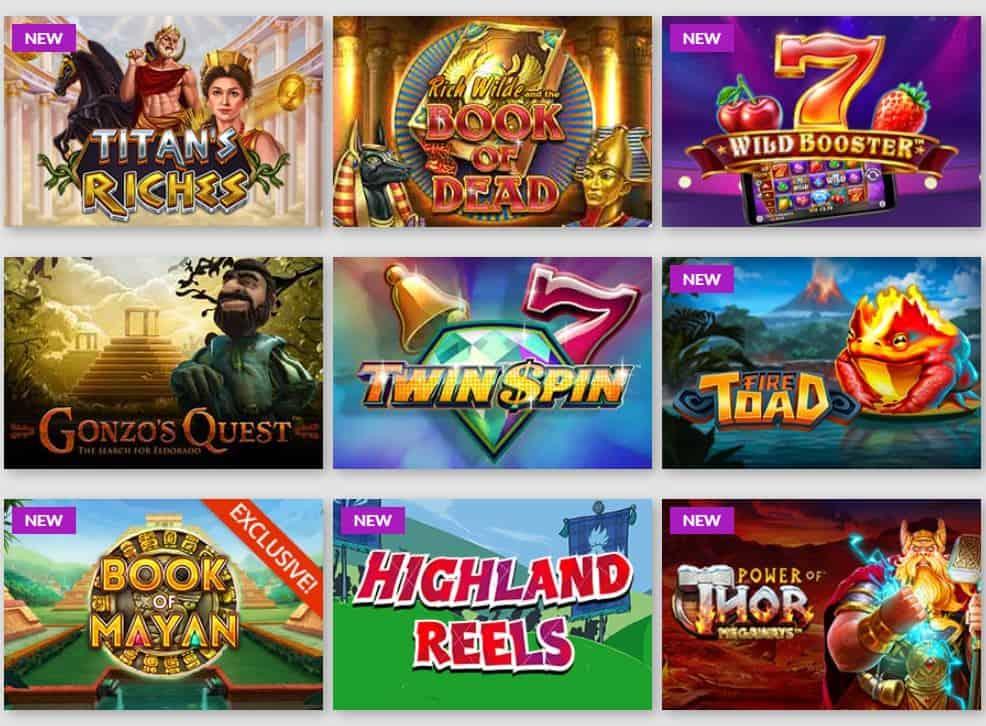 playluck casino spilleautomater